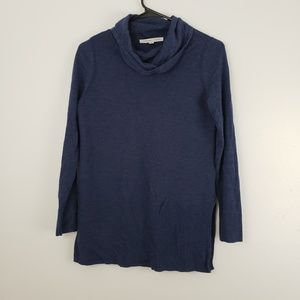 Adrienne Vittadini Cowl Neck Long Sleeve Sweater